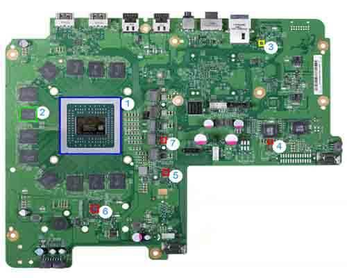 Xbox PCB