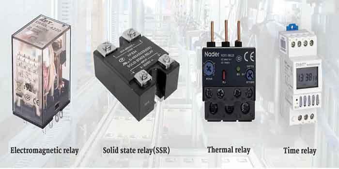 Different kinds of relays adopted in a relay PCB assembly
