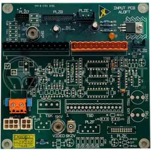 Radar scanner input PCB