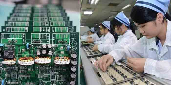 Manufacturing Time of Inverter PCB