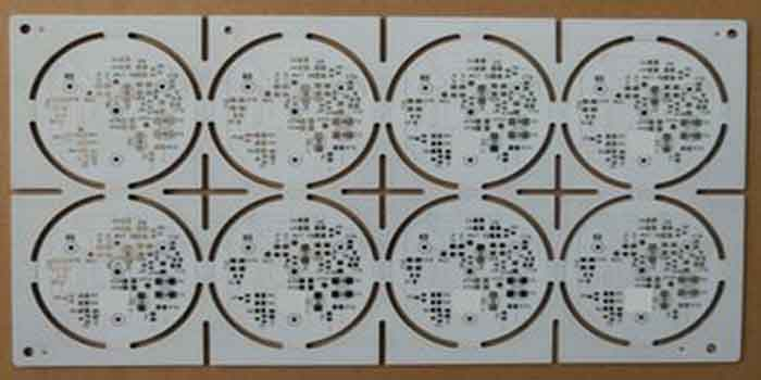 Double-sided IMS PCB