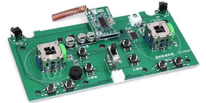 Transmitter PCB Components