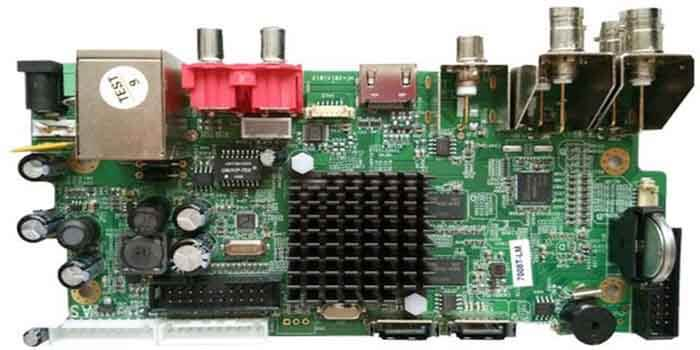 Components Of DVR PCB