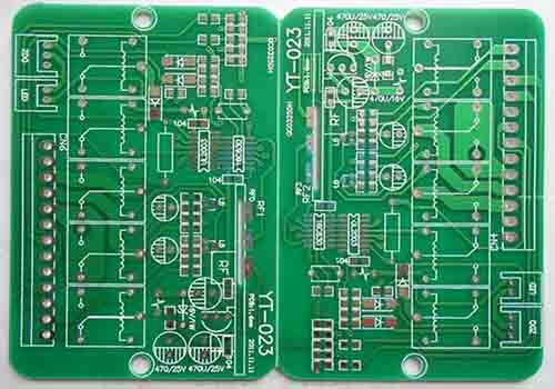 Performed Of A 4 Layer PCB
