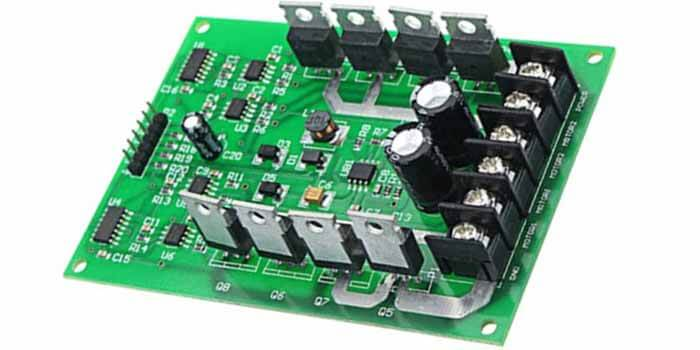 Motor Driver PCB With Impressive Features