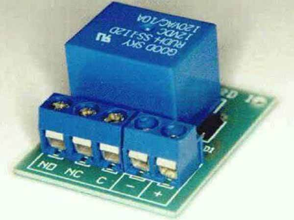 PCB mounted relay board kit