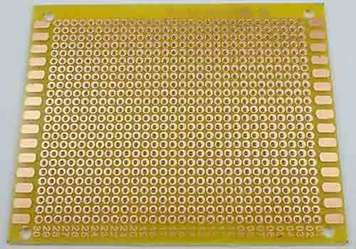 Yellow PCB Substrate