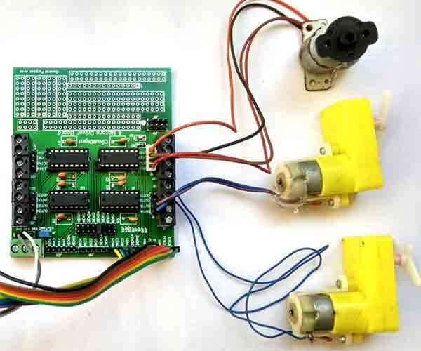 Effective Motor Driver PCB
