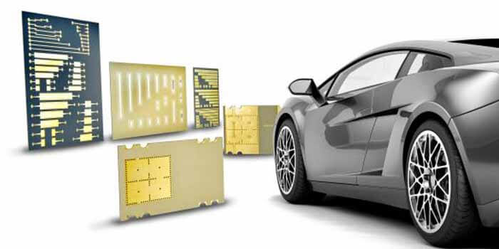 Usage of a radar PCB in the automotive industry