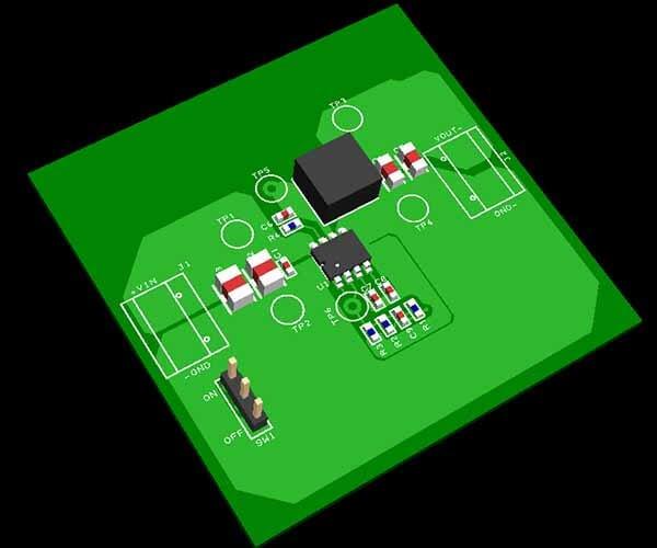 Effective DC-DC Converter PCB