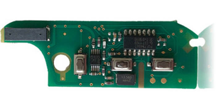 433 MHz Remote PCB With Low Loss Tangent