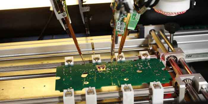 The automated inspection of the high technology embedded PCB
