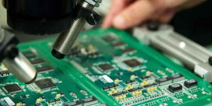 Testing compressor pcb