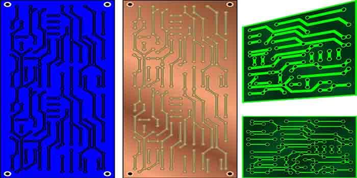 Different materials for refrigerator PCB