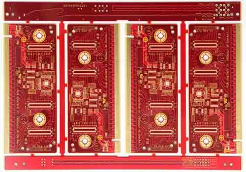 Red Soldermask of 4-Layer PCB
