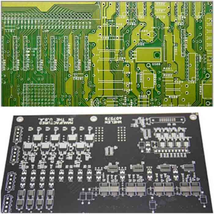 The difference between Green PCB and black PCB