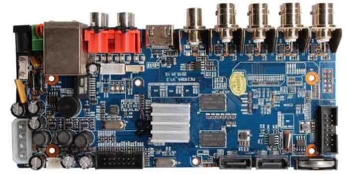 Video Compression Formats Of DVR PCB