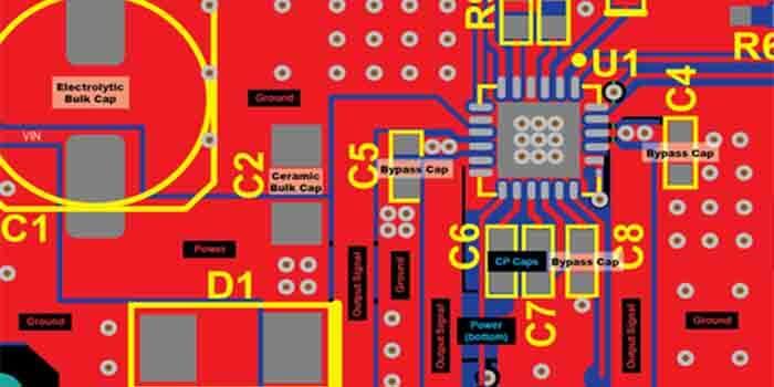 Motor Driver PCB Layout
