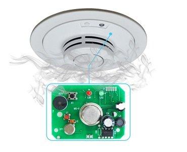 Fire Alarm Sensor PCB
