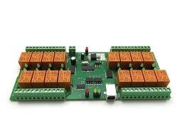 USB 16 Relay Board PCB