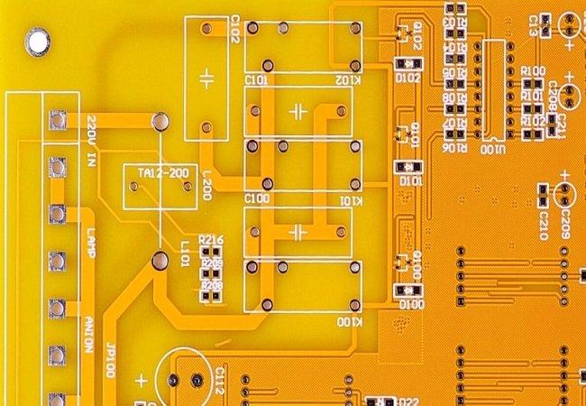 Yellow PCB