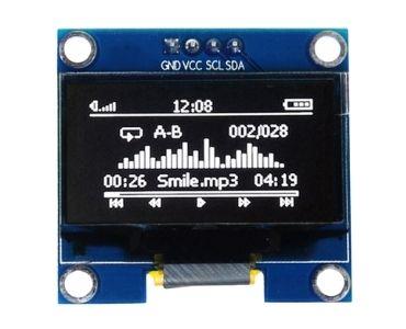 SSD1306 Driver OLED PCB