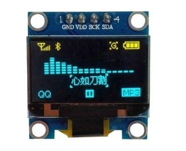 IC Display Module OLED PCB