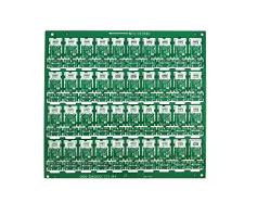 Sensor PCB with Green Solder Mask