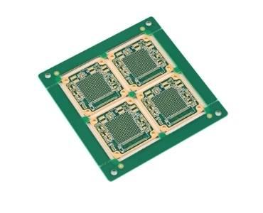 10-Layer High TG Hard Gold HDI PCB