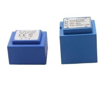 Encapsulated 12V PCB Transformer