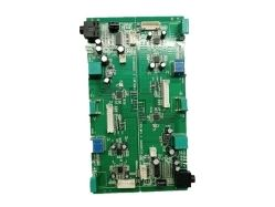 Green Copper Calculator PCB