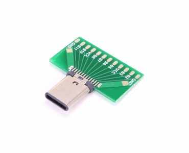 Bottom Mount USB PCB