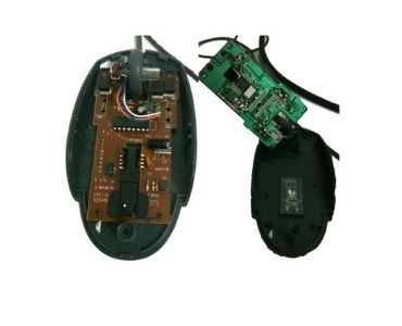 Double-sided Mouse PCB