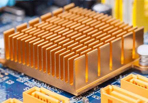 Orange PCB Heat sink