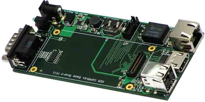 3D model of a Protel PCB