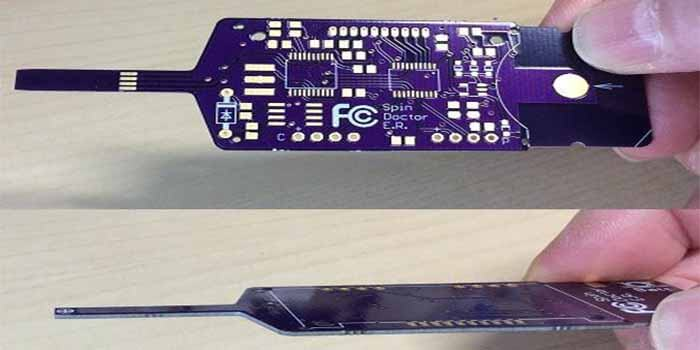 Thickness of Purple Printed Circuit Board