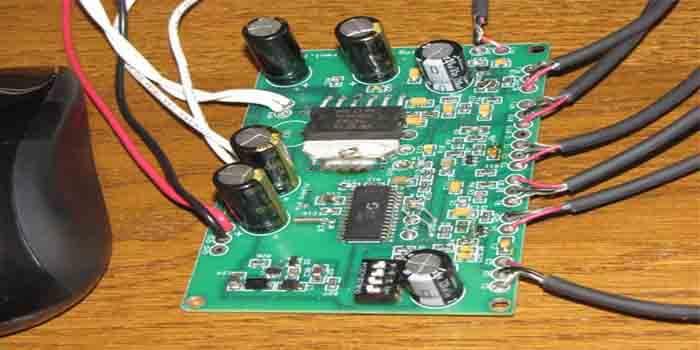 Functional Guitar Amp PCB