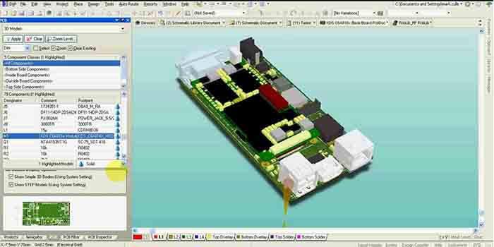 Designing a Protel PCB