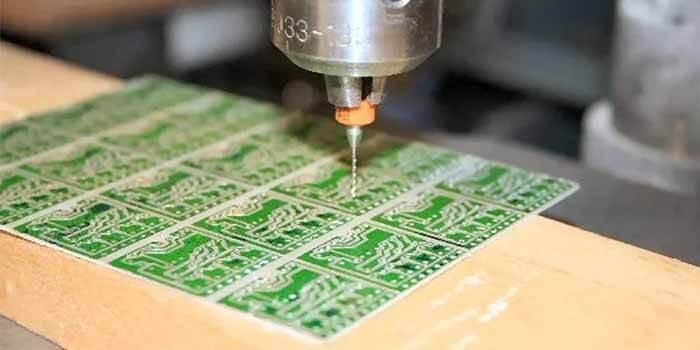 Drilling Vias In A Sensor PCB