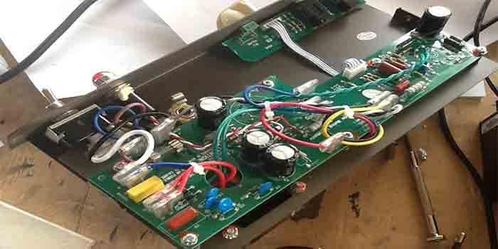 Guitar Amp PCB Effective Distortion