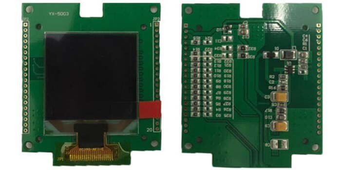 OLED PCB Low Dispersion