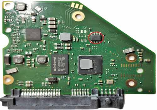 High TG hard drive PCB