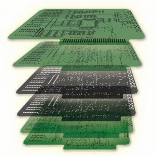 6 layer PCB Stackup