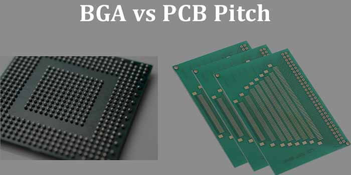 BGA Vs PCB Pitch