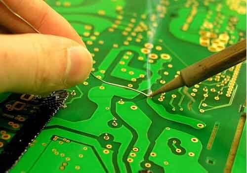 Repairing Small Printed Circuit Board