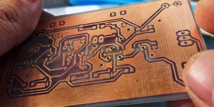 Multilayered Orange PCB