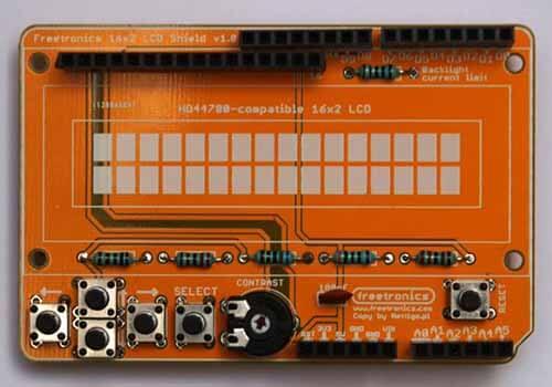 Custom Shielding Of Orange PCB