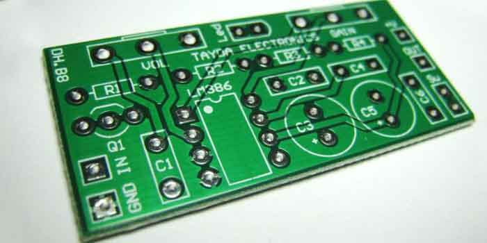Guitar Amp PCB