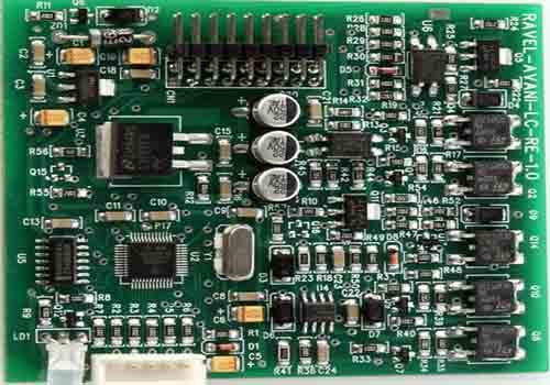 Components Of Fire Alarm PCB