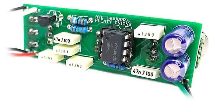 Cricket Mini Guitar Amplifier Circuit Board